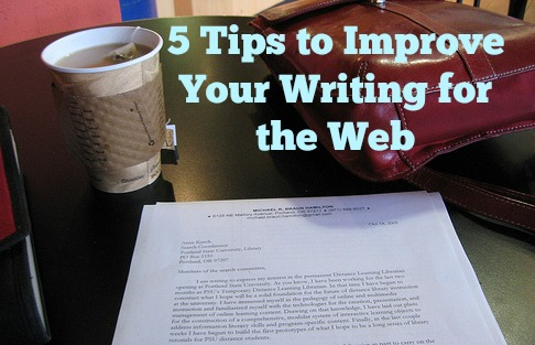 Improve your writing as a freelance blogger