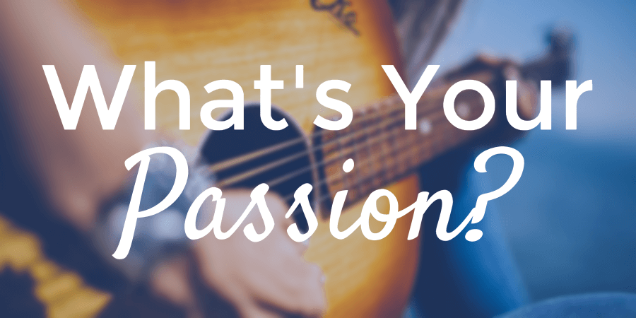 find your passion as a freelance writer