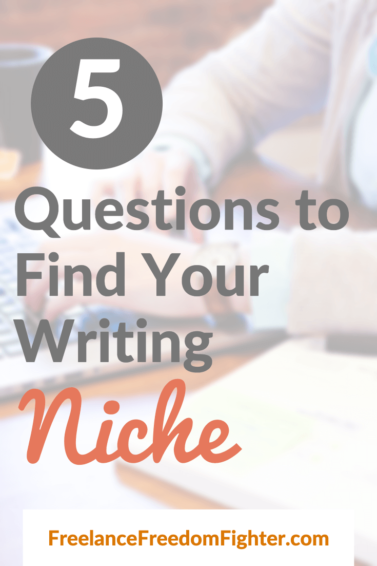 finding your writing niche