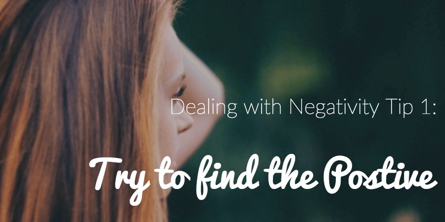 dealing with negativity tips