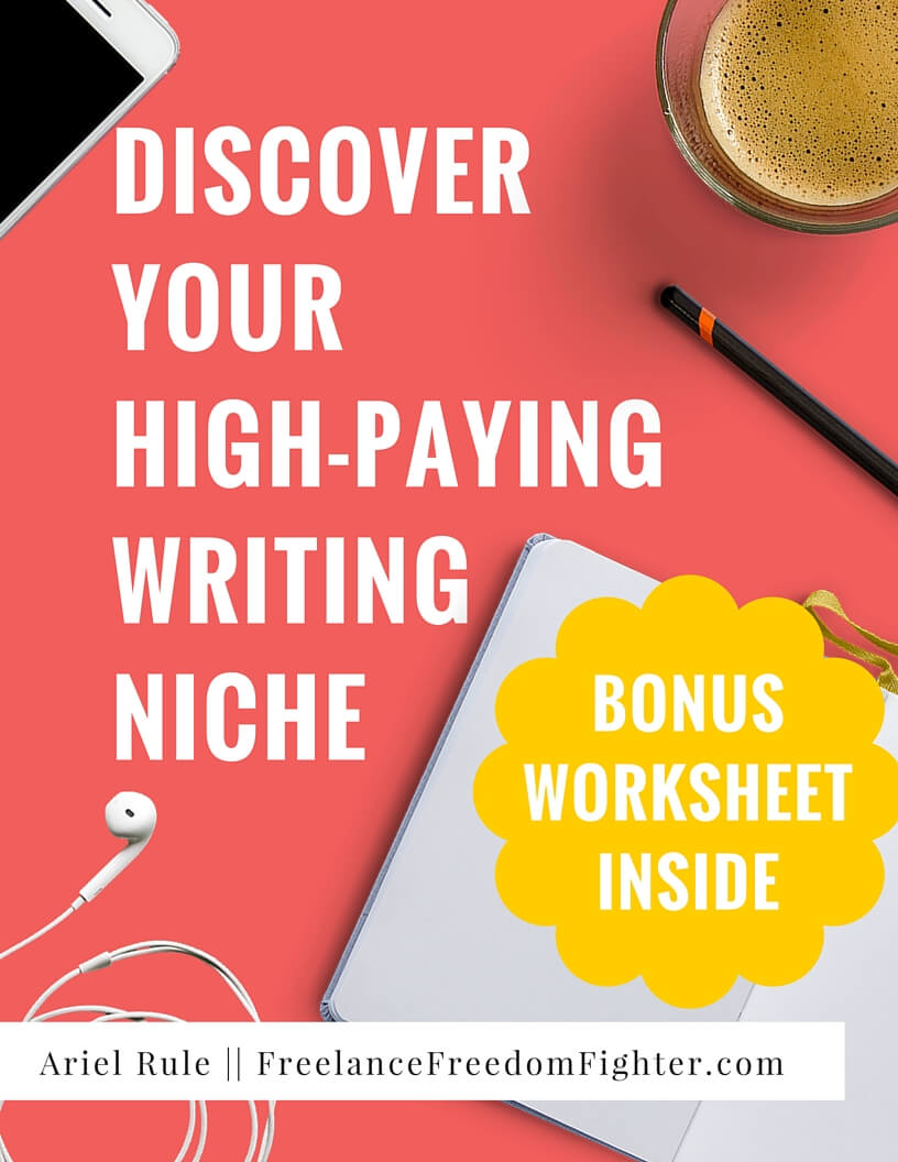 Find your writing niche